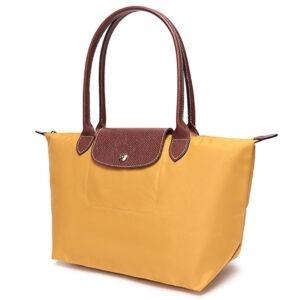 Longchamp 長柄 細購物包 陽光黃 (620)