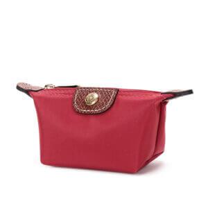 Longchamp Nylon 零錢包 胭脂紅 (545)