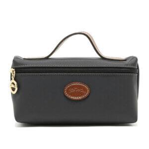Longchamp Nylon 化妝包 鐵灰色 (300)
